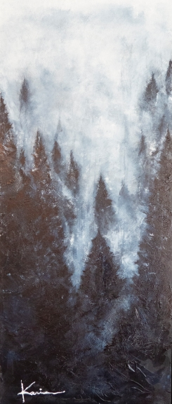 """Obscur"" 20po X 48 po. Disponible."